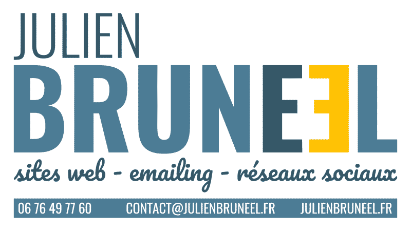 Julien Bruneel - sites web - emailing - réseaux sociaux - 0676497760 - contact@julienbruneel.fr - julienbruneel.fr